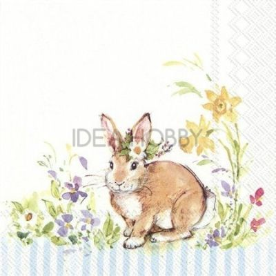 Napkins and Rice Paper with Easter designs