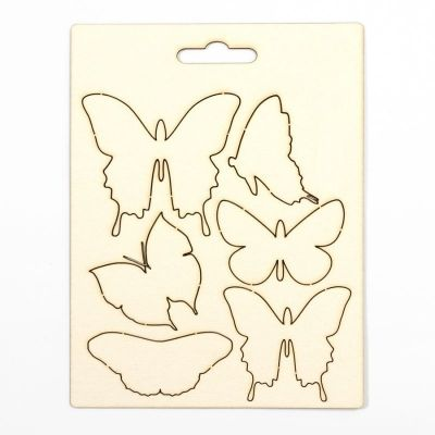 Chipboard elements with Easter Designs