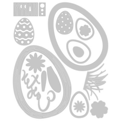 Stencils  with Easter designs