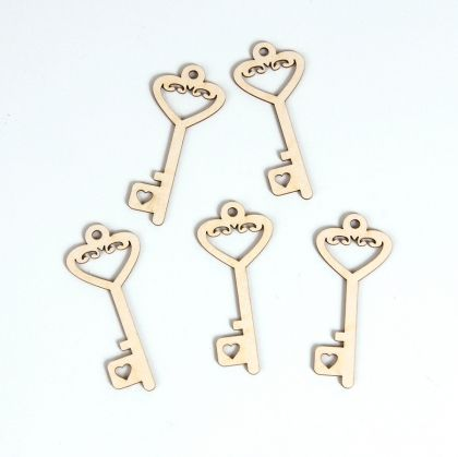 Chipboard - Key 3 IDEA0707