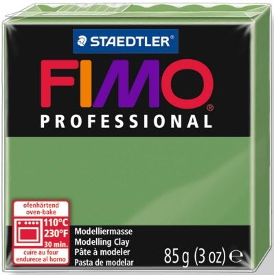FIMO professional modelling clay 85g - leaf green 57 G800457