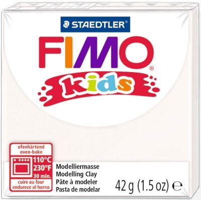 FIMO Kids modelling clay 42g - white 0 G80300