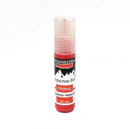 Acrylic paint glossy 20 ml - lipstic red P13366