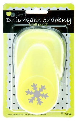Craft punch 5cm - Snowflake JCDZ-120-059
