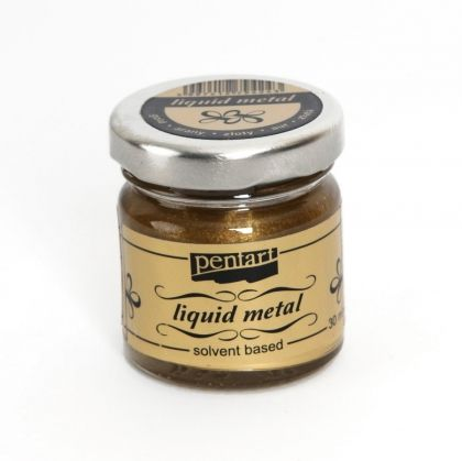 Liquid metal 30ml - gold P21079