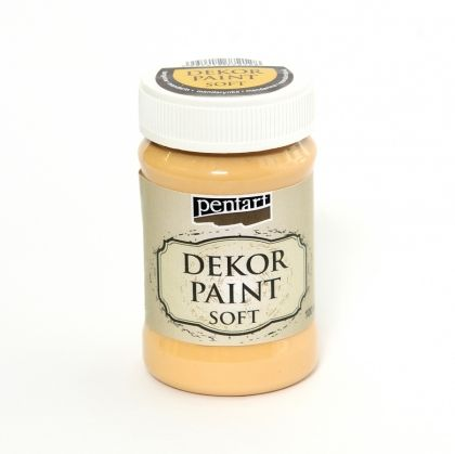 Dekor paint, soft 100 ml - tangerine P21475