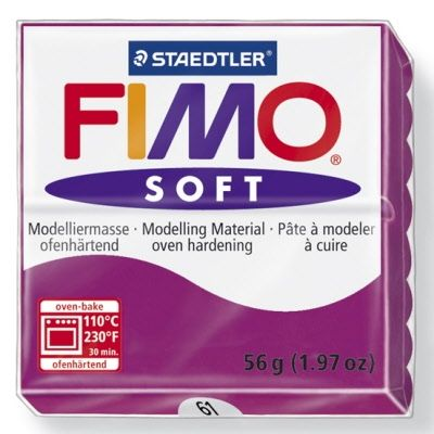 FIMO soft modelling clay 56g - purple 61 G802061