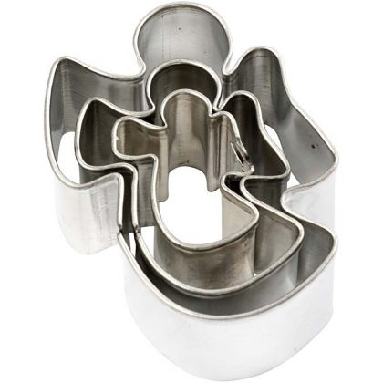 Cookie Cutters 3pcs - angel C78796