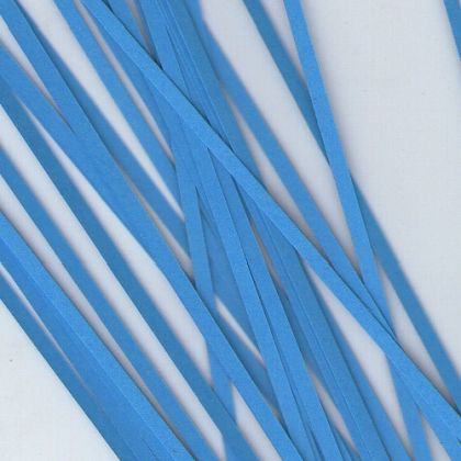 Quilling paper 6mm - bright blue B07-6