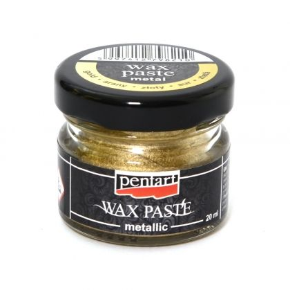 Wax paste - metallic 20ml - gold P4426