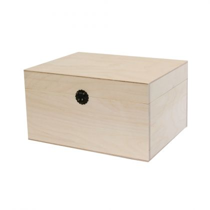 Wooden box 24x18x13cm - IDEA0151