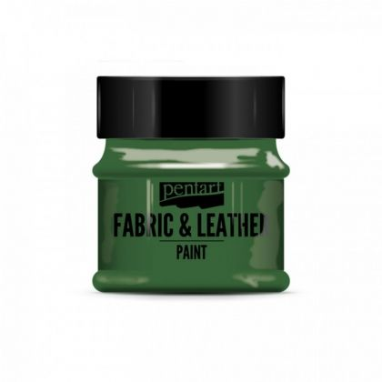 Fabric and leather paint 50ml - green P34811