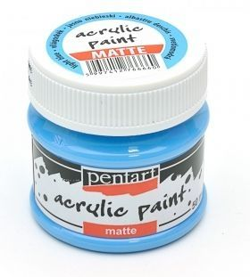 Acrylic paint matte 50 ml - light blue P1306