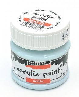 Acrylic paint matte 50 ml - ice blue P1903