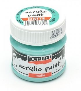 Acrylic paint matte 50 ml - mint P14108