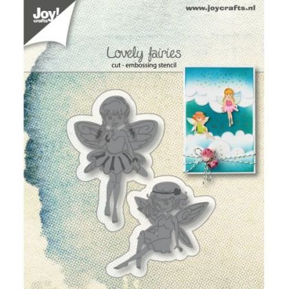 Cutting, embossing stencil - Lovely Fairies 6002-1306