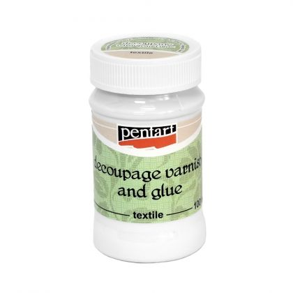 Decoupage varnish&glue textile 100ml - P1456