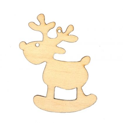 Wooden Christmas figurine - Rudolph IDEA0359-18