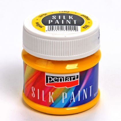 Silk paint 50ml - yellow P17767