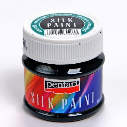 Silk paint 50ml - emerald P17779