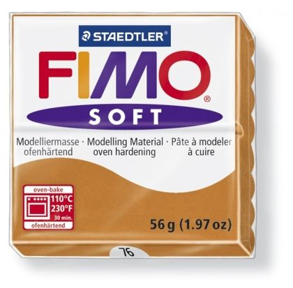 FIMO soft modelling clay 56g - cognac 76 G802076