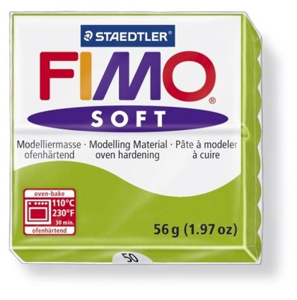 FIMO soft modelling clay 56g - apple green 50 G802050