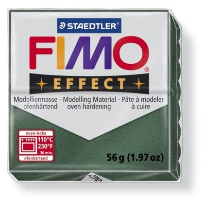 FIMO effect modelling clay 56g - metallic opal green 58 G802058