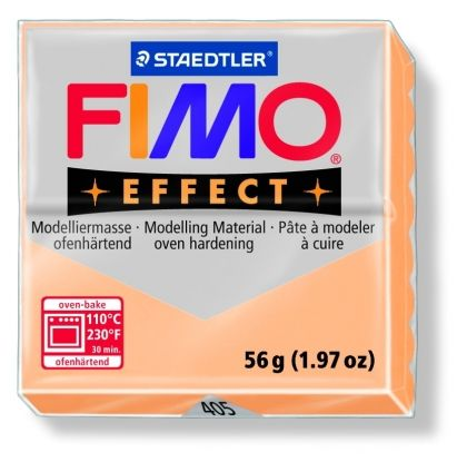 FIMO effect modelling clay 56g - pastel peach 405 G8020405