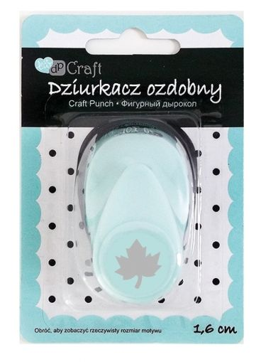 Craft punch 1,6cm - Maple leaf JCDZ-105-022