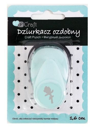 Craft punch 1,6cm - Rose JCDZ-105-234