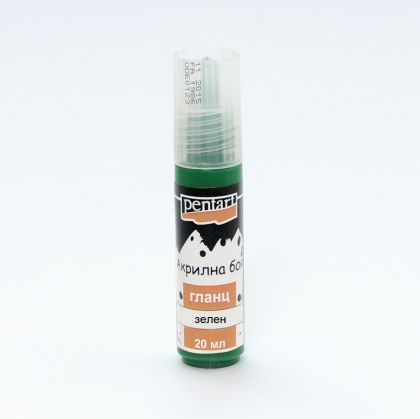 Acrylic paint glossy 20 ml - green P0123