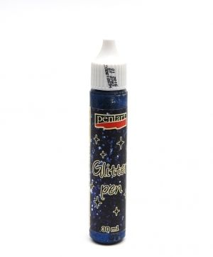 Gliter pen 30ml - blue P18694