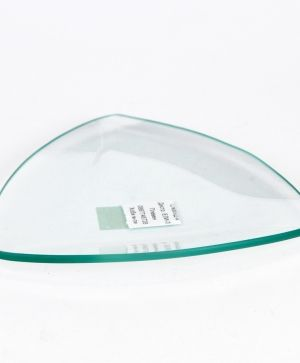 Glass bowl triangle 13x13cm - P2849