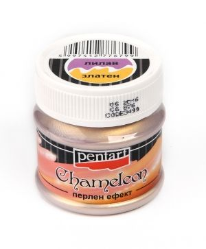 Chameleon pearl effect acrylic paint 50 ml - lilac-gold P3499