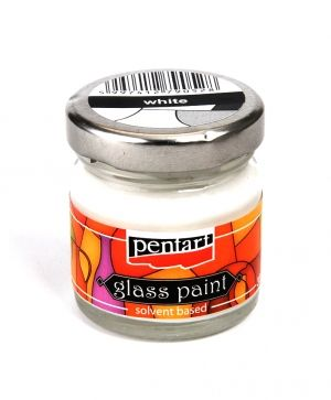 Glass paint 30ml - white P0783