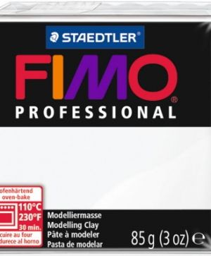 FIMO professional modelling clay 85g - white 0 G80040