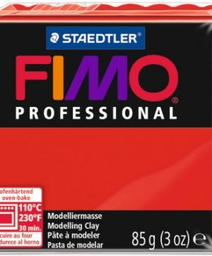 FIMO professional modelling clay 85g - true red 200 G8004200