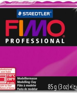 FIMO professional modelling clay 85g - true magenta 210 G8004210