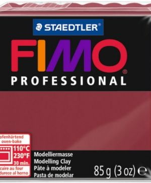 FIMO professional modelling clay 85g - bordeaux 23 G800423