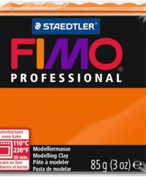 FIMO professional modelling clay 85g - orange 4 G80044