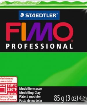 FIMO professional modelling clay 85g - green 5 G80045