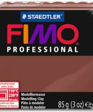 FIMO professional modelling clay 85g - chocolate 77 G800477