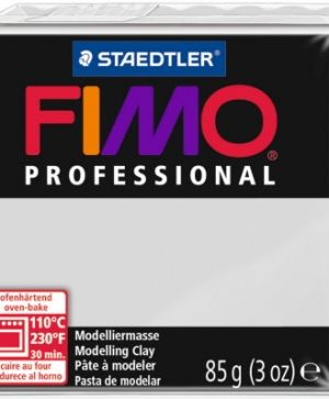 FIMO professional modelling clay 85g - grey 80 G800480