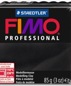 FIMO professional modelling clay 85g - black 9 G80049