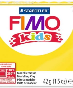 FIMO Kids modelling clay 42g - yellow 1 G80301