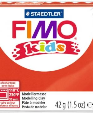 FIMO Kids modelling clay 42g - red 2 G80302