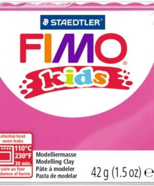 FIMO Kids modelling clay 42g - pink 220 G8030220
