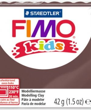 FIMO Kids modelling clay 42g - brown 7 G80307