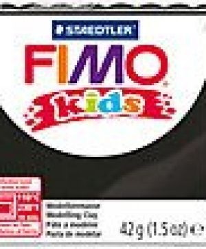 FIMO Kids modelling clay 42g - black 9 G80309