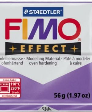 FIMO effect modelling clay 56g - translucent purple 604 G8020604